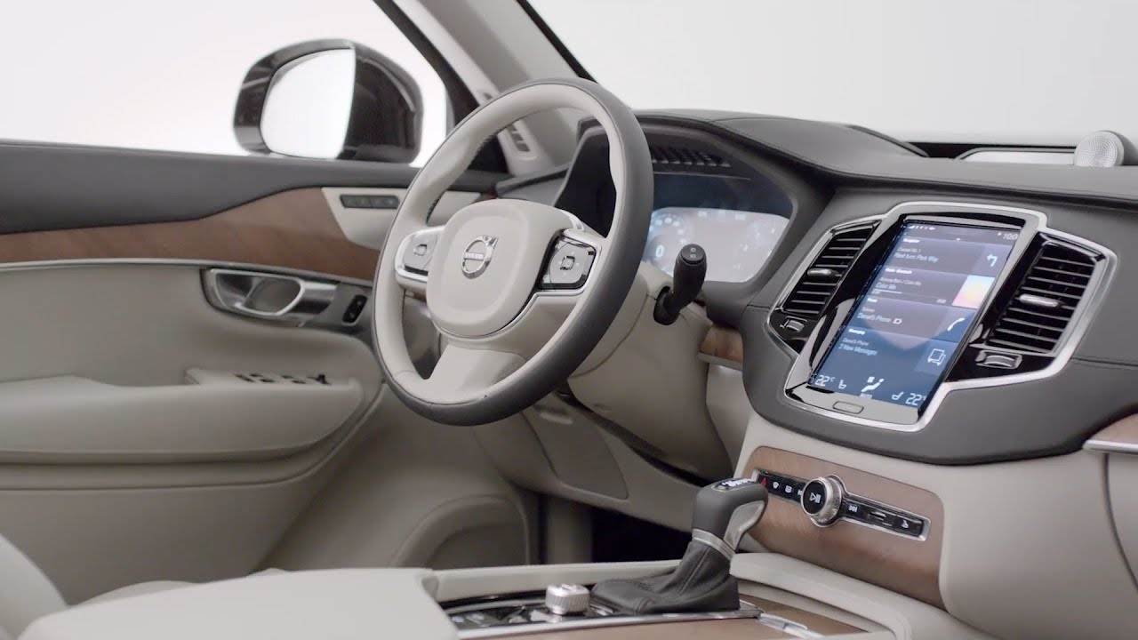Volvo Xc90 Interior >> New 2015 Volvo Xc90 Interior World Premiere