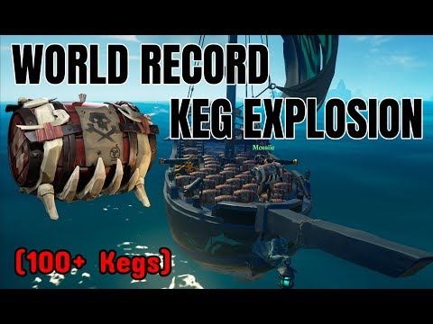 World Record Keg Boom | (Sea of Thieves World Record) ft Moss