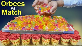 10000 Match VS Orbeez EXPERIMENT