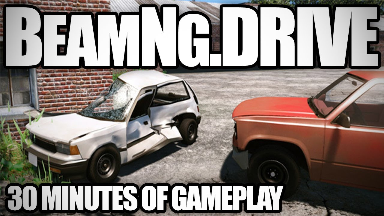 BeamNG drive: Car Crash Simulator | 30 Minutes of Gameplay
