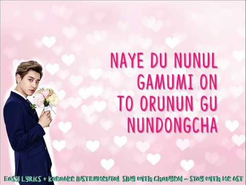 Sing with Chanyeol - Stay with me OST - KARAOKE INSTRUMENTAL - EASY LYRICS