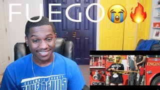 """Cj So Cool ft. Royalty - """"Fuego"""" (Offical Music Video) REACTION"""