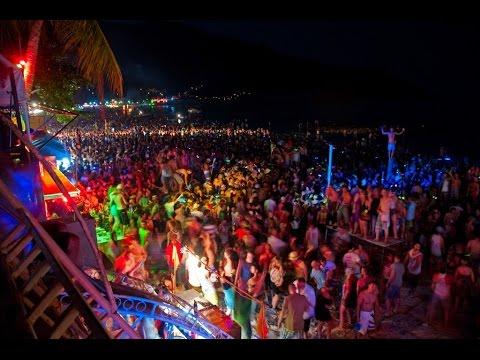 Phi Phi Islands ,Maya Bay , Beach Party