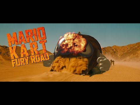 Mario Kart: Fury Road is the most essential mashup trailer of the year