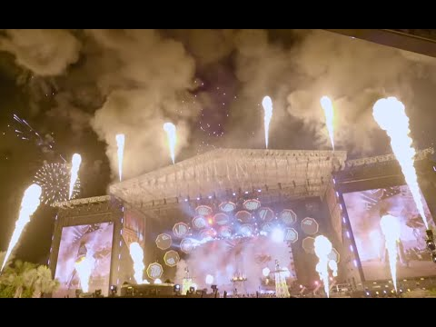 KISS break records during New Years Eve 2020 live concert from Atlantis in Dubai, highest flames ..