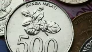 design and value of rp 100 rp 500 and rp 1000 coin