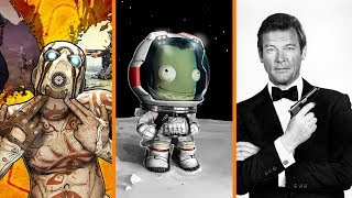 Borderlands 3 Teased + Valve Hires Kerbal Space Program Devs + RIP Roger Moore - The Know