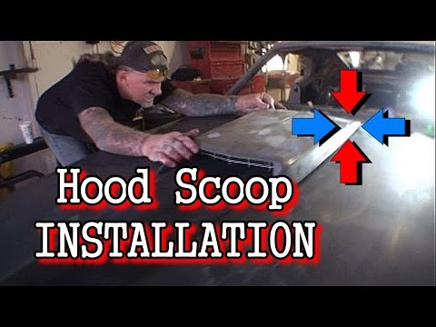 How To: Install A Hood Scoop On A Car Or Truck