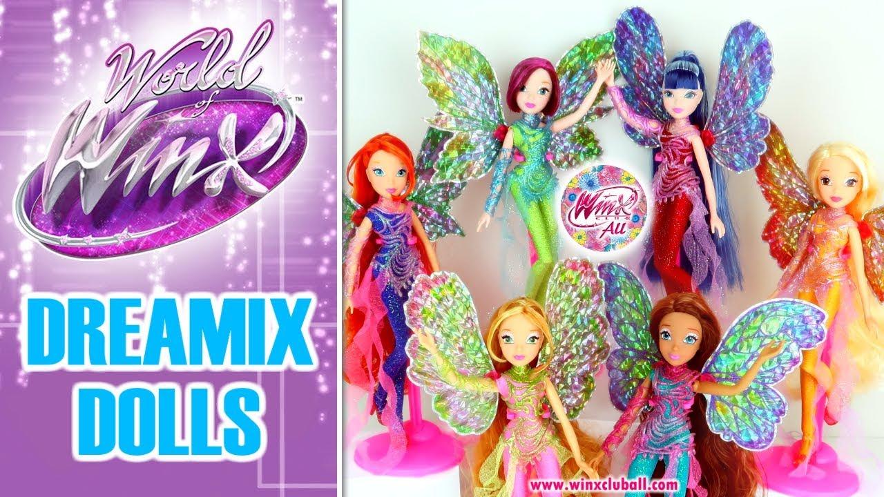 Uncategorized Winx Dolls world of winx lets discover the dreamix dolls youtube dolls