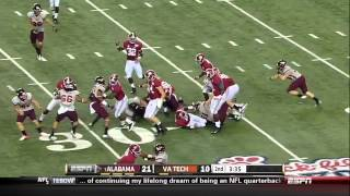 08/31/2013 Alabama vs Virginia Tech Football Highlights