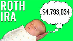 MONEY LIFE HACK: Setting Up A Roth IRA For... YOUR BABY?!