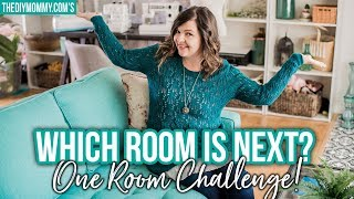 Which Room am I Making Over for the One Room Challenge?!