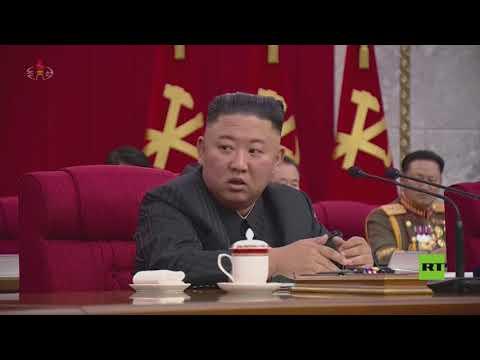 كيم جونغ أون يترأس جلسة حزب العمال الحاكم بكوريا الشمالية لبحث العلاقة مع الإدارة الأمريكية الجديدة  - 13:55-2021 / 6 / 18