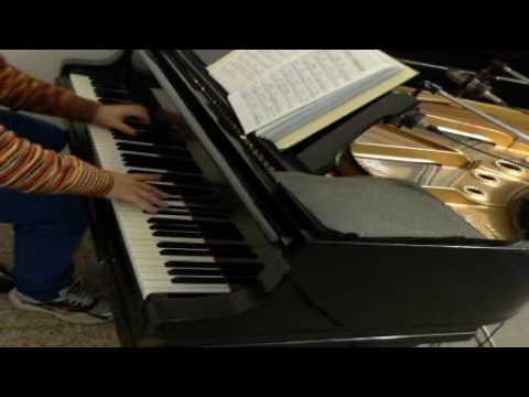 a foggy day - piano solo
