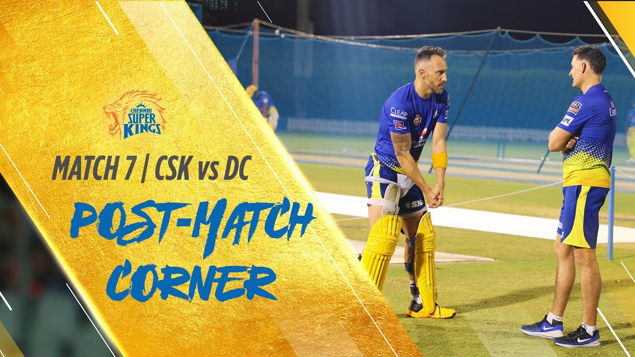 IPL 2020 Match 7: Post-match corner: CSK vs DC #Whistlepodu #Yellove