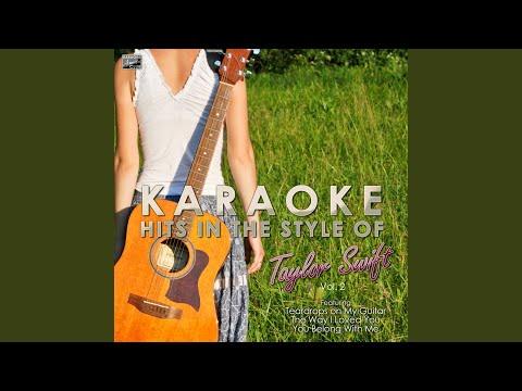 Stay Beautiful (In The Style Of Taylor Swift) (Karaoke Version)