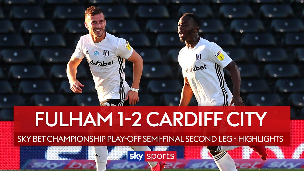 Fulham reach play-off final despite defeat! | Fulham 1-2 Cardiff | Championship Play-Off Highlights