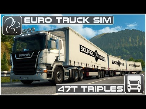 47T Triples - Frankfurt to Innsbruck (Euro Truck Simulator 2)