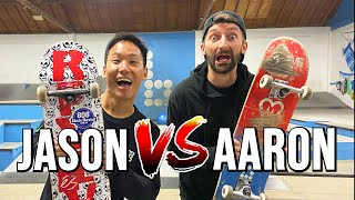 AARON KYRO VS JASON PARK - BRAILLEHOUSE GAME OF SKATE