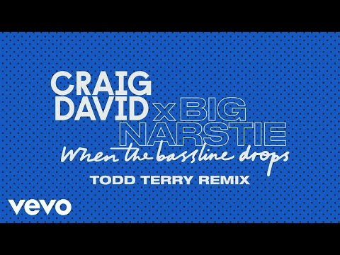 Craig David x Big Narstie - When the Bassline Drops (Todd Terry Remix) [Audio]