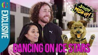 Dancing on Ice star Ryan Sidebottom meets Hacker!
