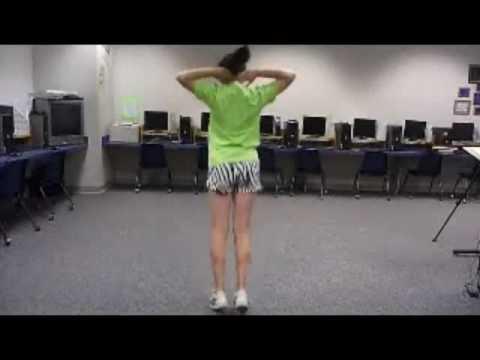 2010 Junior High cheer, chant, dance tryout.wmv