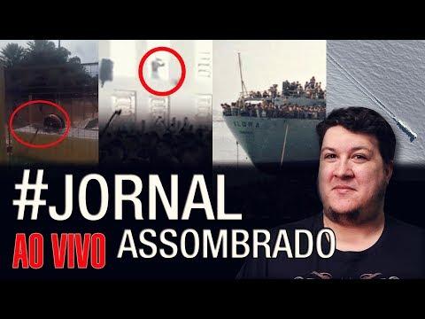 J.A.#222: OVNI Caiu em Ilha? Anjo em Igreja de São Carlos-SP!Mistério em Aquidauana-MS! Navio Vlora