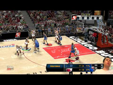 NBA 2K14 - Forgot about Jordan's Mustache
