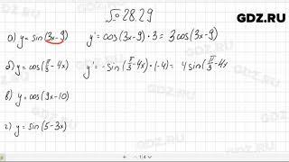 № 28.29 - Алгебра 10-11 класс Мордкович