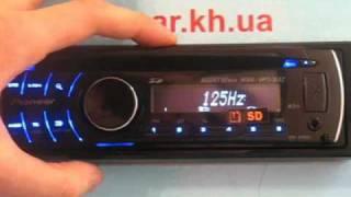 Обзор аудионатроек автомагнитолы Pioneer DEH-4200SD avtocar.kh.ua
