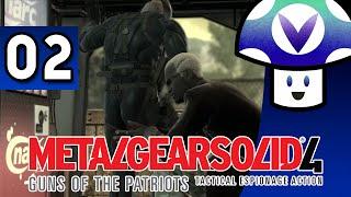 [Vinesauce] Vinny - Metal Gear Solid 4: Guns of the Patriots (part 2)