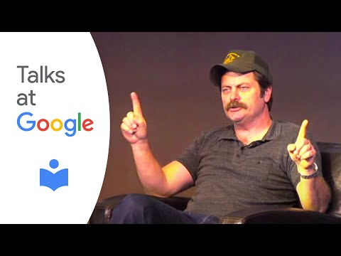 """Nick Offerman: """"Paddle Your Own Canoe"""" 