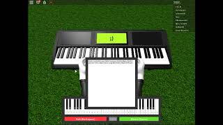 Roblox piano! (Gravity falls theme song)