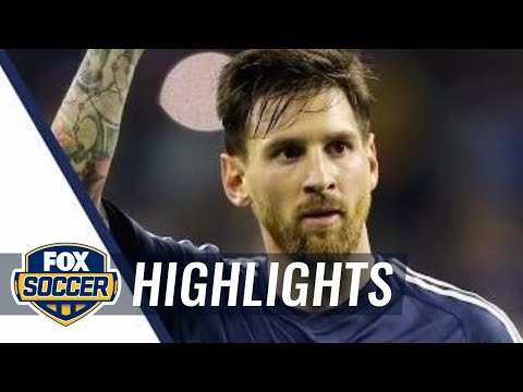 Lionel Messi vs. United States: Best of All Touches | 2016 Copa America Highlights
