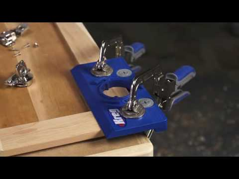 Concealed Hinge Jig From Kreg System And Fixing Process