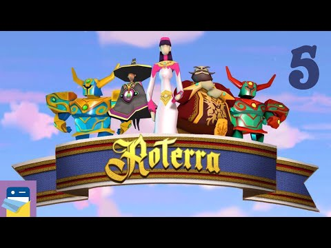 Roterra - Flip the Fairytale: iOS / Android Gameplay Walkthrough Part 5 (by Dig-It Games)