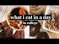 COLLEGE WHAT I EAT IN A DAY TO BE HEALTHY | Haley Simpson