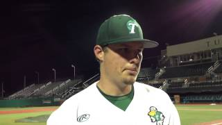 Tulane ace Corey Merrill not encouraged by much of Friday