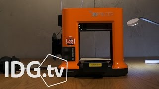 Hands-on with the da Vinci Mini 3D printer