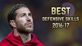 Sergio Ramos 2016-17  Best Defensive Skills  HD