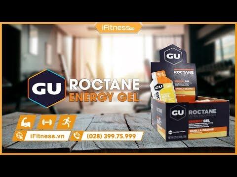 Gel uống bổ sung Gu Roctane gel hộp 24 gói vị lựu việt quất