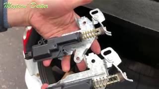 Ford Fiesta MK6 2008 Probleme deschidere portbagaj