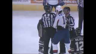 ahl fights winchester mitchell fight 1st period