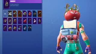 Showcasing My Fortnite Locker | 20+ Skins | Midfield Maestro, Tomatohead! Happy Thanksgiving!