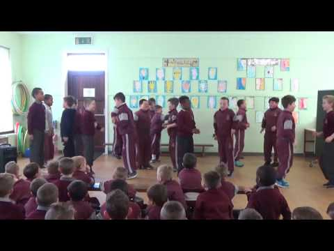 Seachtain na Gaeilge 2016: 1st and 2nd Class