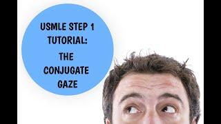 USMLE Step 1 Tutorial - Conjugate Gaze Explained