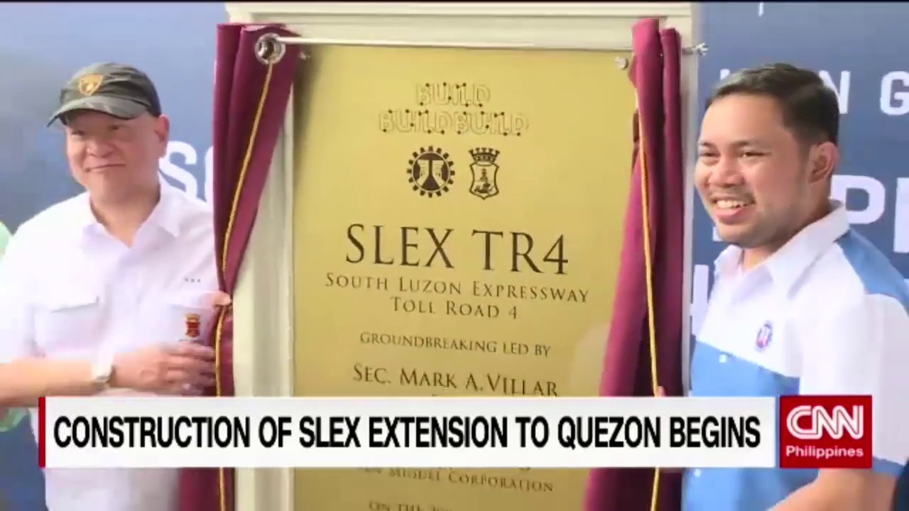 Construction of SLEX extension to Quezon begins