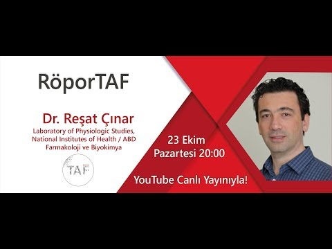 RöporTAF- Dr.Reşat Çınar/ National Institutes of Health–NIH
