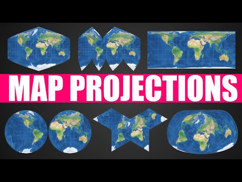 How do Map Projections Work?
