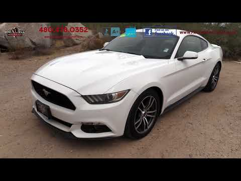 2015 Ford Mustang EcoBoost Premium Coupe - Luxury Motorsports (15252)